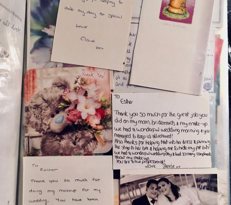 Wonderful letters and cards from my clients