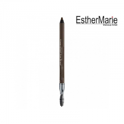 EstherMarie Waterproof Eyebrow pencil with integrated brush / EYEBROW DESIGNER