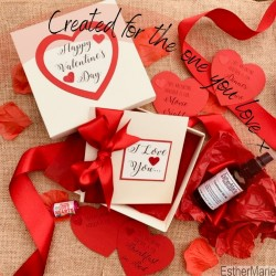 EstherMarie Valentine's day share the love gift set