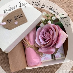 EstherMarie Mothers Day with Love Vintage gift set complete