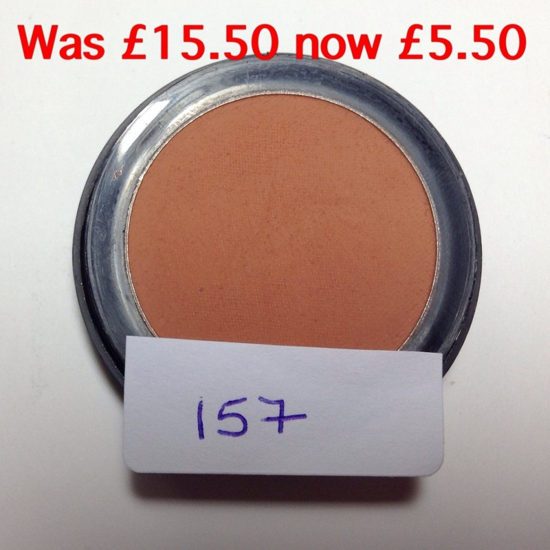 Forever Living Products single blusher black packaging with lid and box 157  sienna