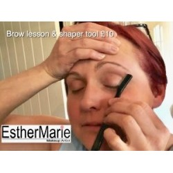 EstherMarie brow shaper and lesson for £10