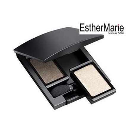 Duo mirror compact beauty box - 2 eyeshadows