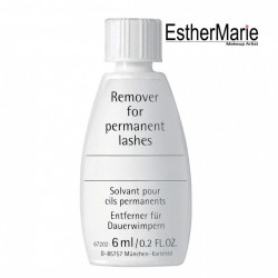 EstherMarie lash remover for permanent individual or flare lashes.