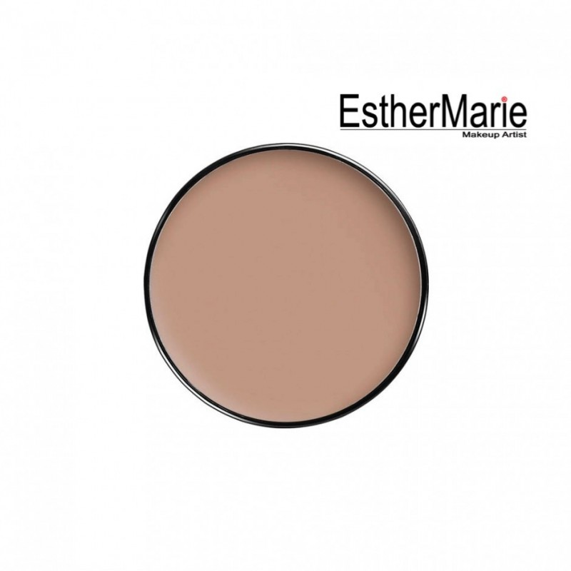 EstherMarie Double finish Solid Foundation refil with lid2 - tender beige