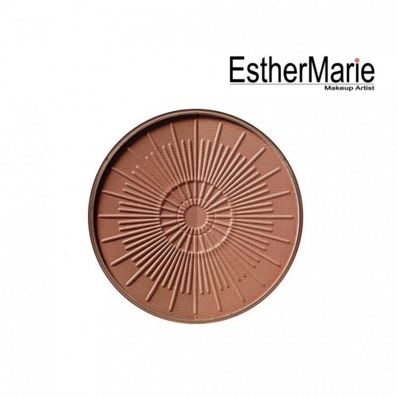 EstherMarie BRONZING POWDER COMPACT LONG-LASTING REFILL 30 - terracotta