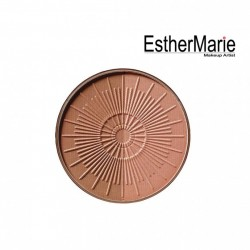 EstherMarie BRONZING POWDER COMPACT LONG-LASTING REFILL 90