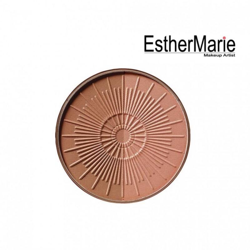 EstherMarie BRONZING POWDER COMPACT LONG-LASTING REFILL 90