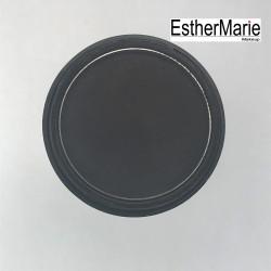 EstherMarie single eyeshadow 155 charcoal