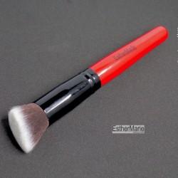 Blending and buffer brush for setting powder.