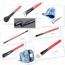 Special offer 7 brushes makeup remover cloth and pro bag