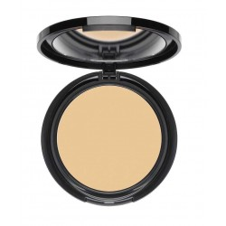 Empty mirror compact for ONE foundation or powder showing with foundation in it (not included)