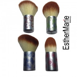 EstherMarie blonde mini kabuki brush