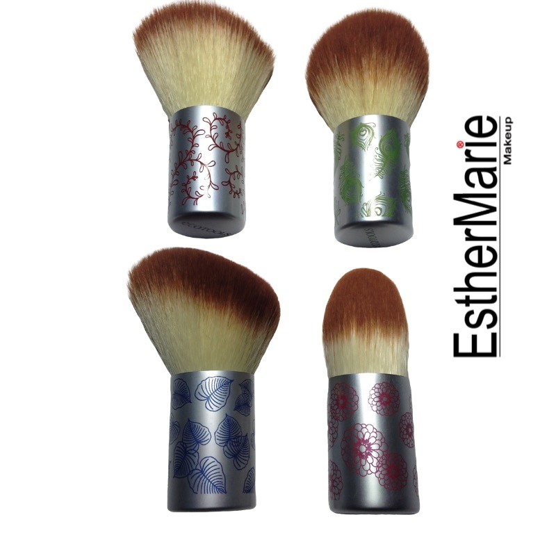 EstherMarie blonde mini kabuki brush