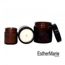 EstherMarie Brown Jar Candles