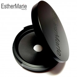 Empty mirror compact for ONE foundation or powder