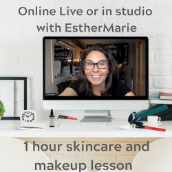 £30 Individual skincare makeup lesson 1 hour