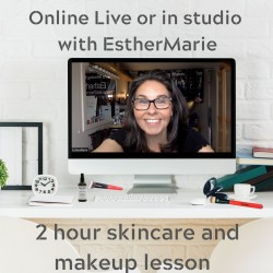 £45 skincare makeup lesson 2 hours