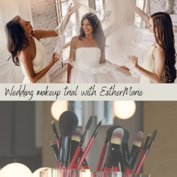 Wedding Trial including application consultation inc Bride + 2