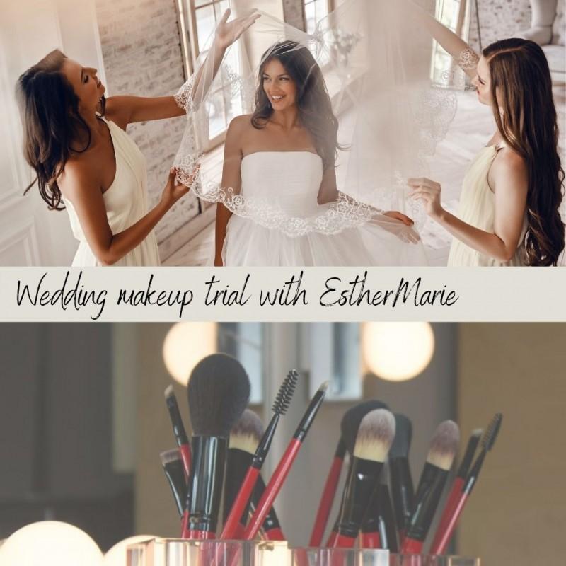 Wedding Trial including application consultation inc Bride + 2