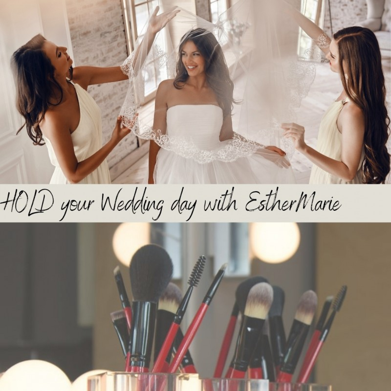 Hold your wedding day with EstherMarie