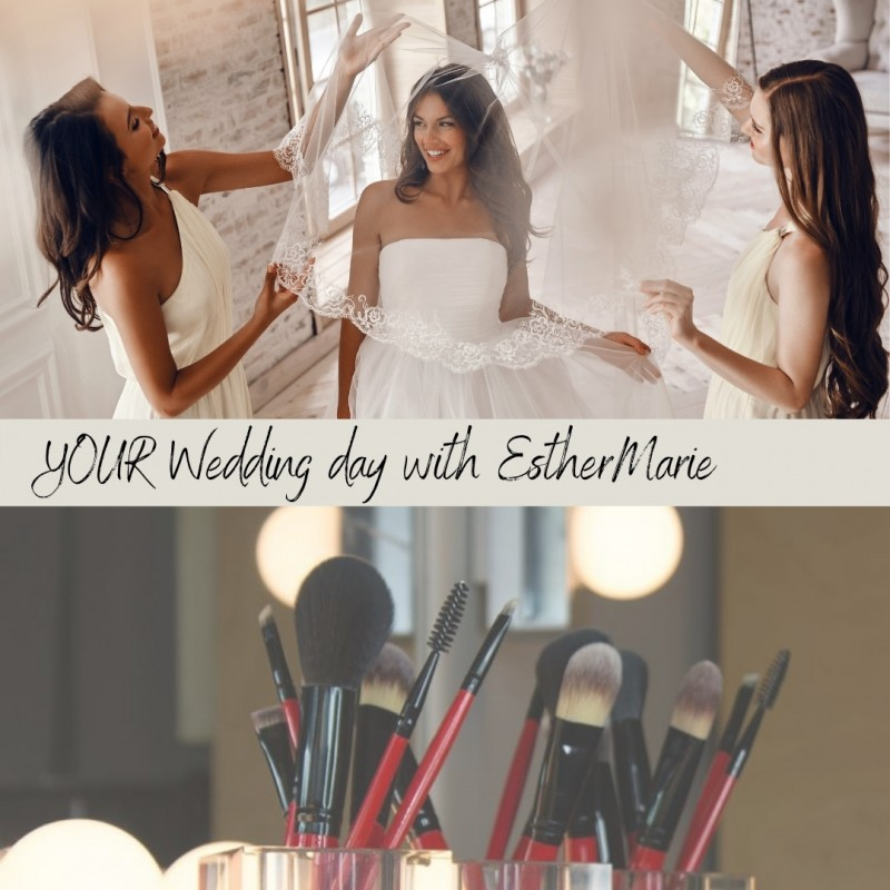 Wedding Day application quote with EstherMarie