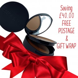 Christmas set 3 Includes double refillable compact + foundation + contour powder with online 60 minute consultation