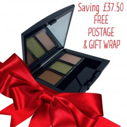 Christmas set 6 - includes a trio refillable compact with 3 eyeshadows of your choice with 60 minute online consultation.